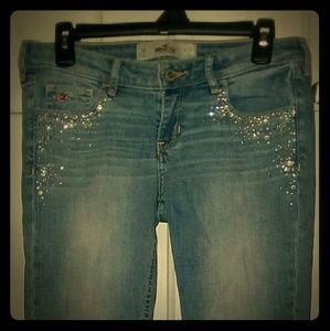 Hollister Faded Blue Jeans (5R)